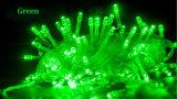 Anschließbares LED-Zeichenkette-Licht mit verschiedenen Farben 10m-100LEDs