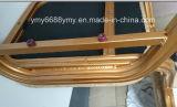 Stapelbarer runde Rückseiten-geformter Schaum AluminiumBanquest Stuhl