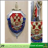 3D Metal Emblem per Hanging in Bulliding