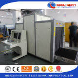 공항을%s 큰 크기 엑스레이 짐 스캐너 AT8065 엑스레이 수화물 스캐너 또는 역 또는 관례 또는 국경 안전 점검