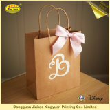 Изготовленный на заказ хозяйственная сумка Kraft Paper для Garment (JHXY-PB0013)