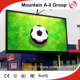 El panel video a todo color de la pantalla de la muestra LED de la publicidad al aire libre P6