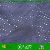 Tessuto 100% di maglia d'imitazione di memoria del poliestere 50d