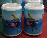Kundenspezifischer grafischer Eis-Wannen-Kühlvorrichtung-Kasten-Eis-Zylinder-heißer Verkauf