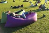 Sofa gonflable gonflable d'air de lieu de visites de Laybags de sac de couchage de lieu de visites en nylon en gros de Lamzac d'usine