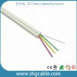 Cable de teléfono redondo de la mejor base del precio 4