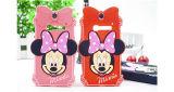 iPhoneのための方法Minnie Mickeyの漫画のシリコーンの携帯電話の箱