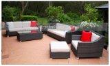 Mtc057柳細工のテラスのソファーの屋外の藤の家具の椅子表のホーム庭の家具の柳細工の家具の藤の家具