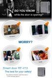 Protezione della famiglia del video dell'allarme di portello dell'inseguitore di GSM da telecomando dello scassinatore domestico con la protezione di portello del telefono mobile