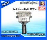 CE RoHS C-Tick 20W СИД Street Light Housing Dlc ETL SAA TUV