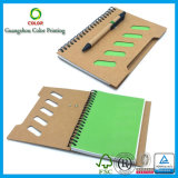 Sale caldo Customized Kraft Notebook con Pen