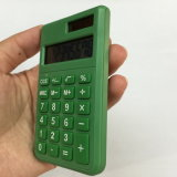 8 dígitos Dual a calculadora Pocket da potência