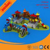 Dia van het Park van de Speelplaats van het Vermaak van kinderen de Openlucht Grote