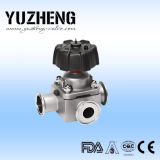Soupape à diaphragme globale sanitaire de Yuzheng Y