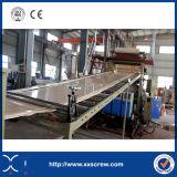 Linea di produzione ondulata rigida dell'espulsore di strato del tetto del PVC