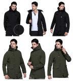 2개의 색깔 N3b Mens 연약한 쉘 외투 옥외 재킷 스포츠용 잠바