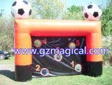 Tiro inflável do futebol do jogo de futebol do tiro