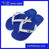 Pattini del sandalo del pistone del PE della spiaggia colorati pianura per l'uomo (T1580)