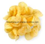 Linha de produção natural das microplaquetas de batata que processa a maquinaria