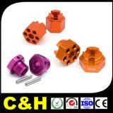 Pièces de précision de fraisage de rotation de usinage de commande numérique par ordinateur de plastique fait sur commande d'ABS/POM/PP/PC/Acrylic