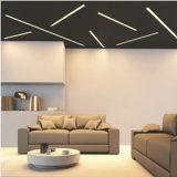 luz linear de la lámpara pendiente de 4000k 2835 SMD LED con 30W 2700lm