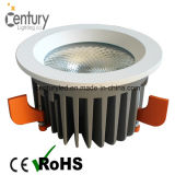 El blanco caliente 3000k se abre montó 170m m 85-265V LED Downlight 40W