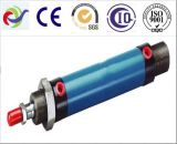 Cilindro industrial hidráulico ativo dobro