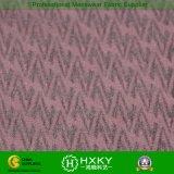 Tissu de jacquard tissé par polyester composé posé par double pour le vêtement