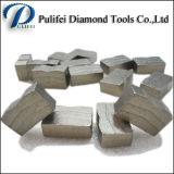 Segment van het Graniet van het Blad van de Zaag van de Fabrikant van het Segment van de diamant het Scherpe Marmeren