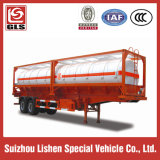 Liquid chimico Tank Container Corrosive Tanker Transportation 20cbm Semi Trailer
