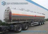 Meccanico/Pneumatic Loading Tri-Axle Fuwa Oil Tank Trailer 50000L