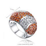 Silberner Schmucksache-Ring des Festival-925 mit einer 2 Tagesanlieferung (R-0528)