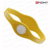 125 chilocicli promozionali Multi-Color Custom Silicone RFID Wristband