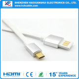Cavo del caricatore di sincronizzazione di dati del USB del TPE del tessuto Braided di qualità micro per I5/I6