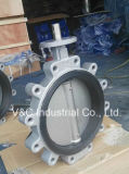 Manual OperationのEPDM Seal Lug Type Butterfly Valve