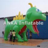 Riesiger aufblasbarer Drache-Ballon im Freien für das Bekanntmachen