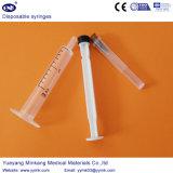 Siringa sterile a gettare con l'ago 2ml (ENK-DS-069)