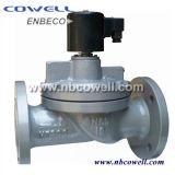 Válvula de solenóide eletromagnética normalmente fechada/aberta a ação direta