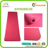Lichtgewicht Milieuvriendelijk van het Kussen van de Breedte en van de Lengte van de Laag van de Mat van de Yoga TPE Enige Extra Goede