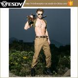 2 calças ocasionais engrossadas algodão do Repellent de água de homens ao ar livre das cores
