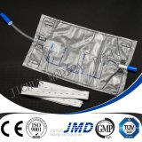 2000ml Disposable Urine Bag con Spingere-tirano Valve