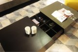 호텔 Furniturn 새로운 현대 거실 나무로 되는 커피용 탁자 (T-92)