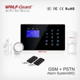 Anti-diefstal Wireless GSM+PSTN Alarm met Touch Keypad en Cid (yl-007M2)