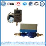 Medidor de água pagado antecipadamente do CI cartão doméstico com válvula Dn15-Dn25 do motor