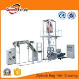 Máquina de sopro da película do saco de plástico do fechamento do fecho de correr da alta qualidade