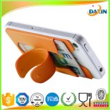 Vente en gros OEM Custom Sticky Cell Phone Silicone Slap Stand