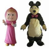 El mejor traje de la mascota de la historieta del oso de Masha de la calidad