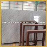 Bianco Carrara 마루 도와 벽 도와를 위한 백색 대리석 건축재료 석판