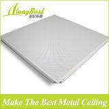 SGS 2016 de moda de techo de aluminio perforado