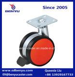 Rolante de roda de rolo com cadeira de fechadura de plástico